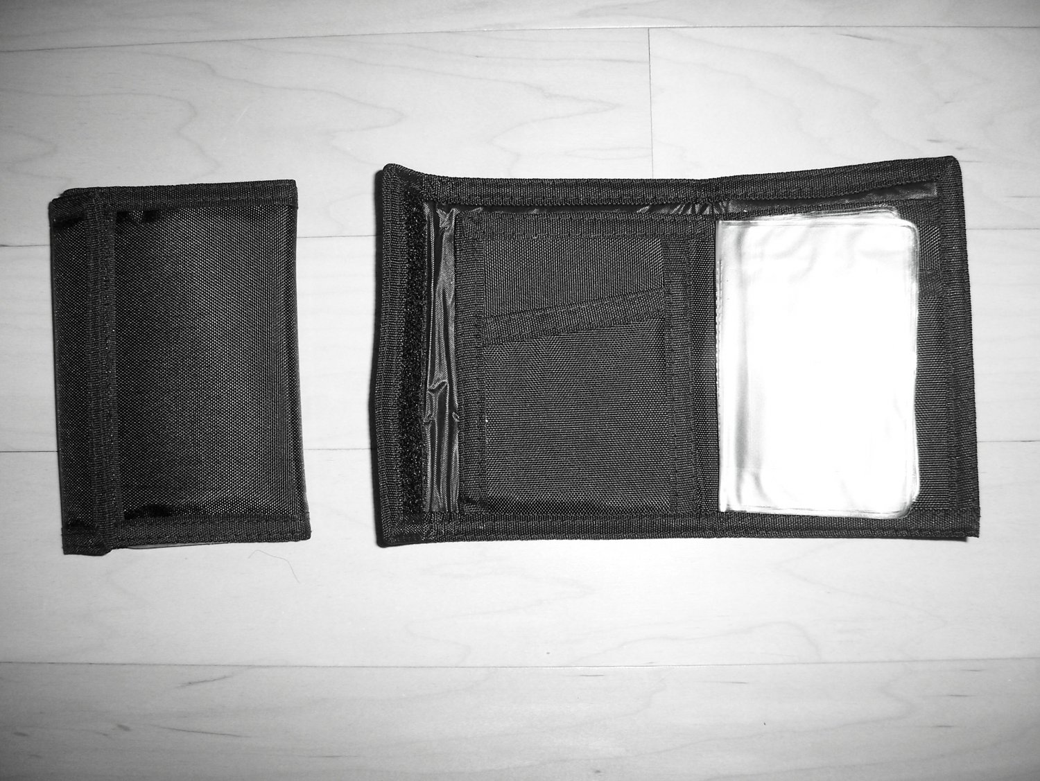 Wallet Black Velcro Closure BNK734