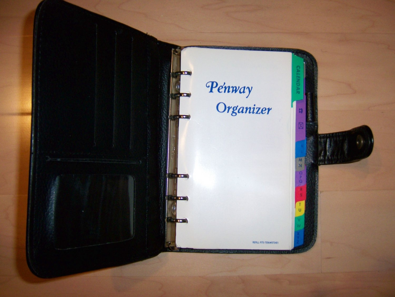 Oganizer by Penway Leather Cover Notes Keeper BNK741