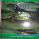 "All About Animals ""Frogs"" Collectors Illustrated Hardcover Book BNK743"