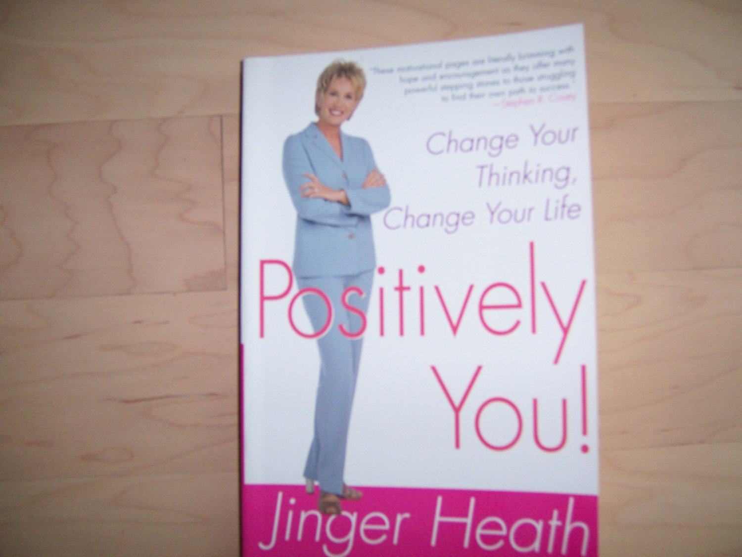 Positively You By Golden Book Stephen R.Covey BNK749