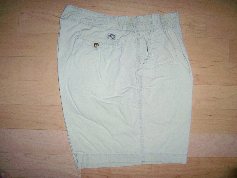 Men's Shorts Chino Light Tan Elastic Sides BNK756