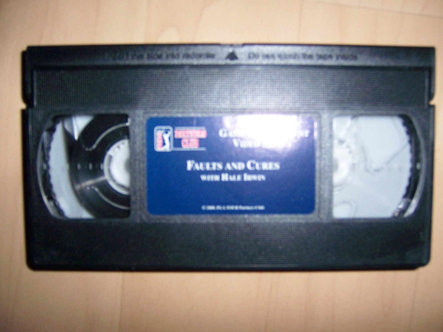 VHS PGA Partners Club Game Improvement Faults & Cures BNK770