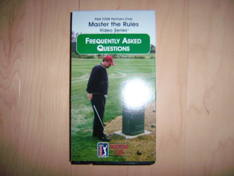 VHS Golf Master The Rukes FAQ BNK790
