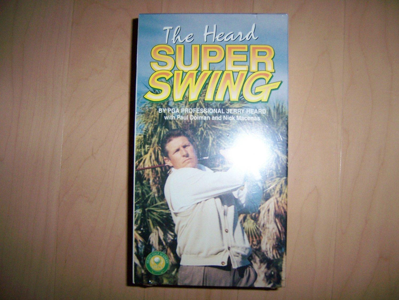 VHS Super Swing By The Heard PGA BNK791
