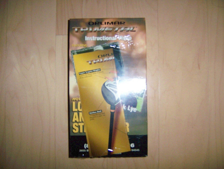 VHS Olimar TriMetal Golf Instructions BNK792