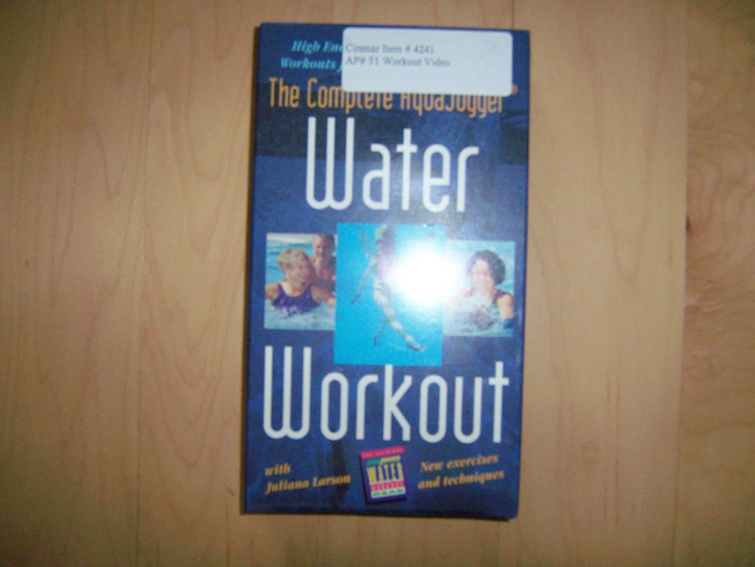 VHS Water Workout The Complete Aqua Jogger BNK806