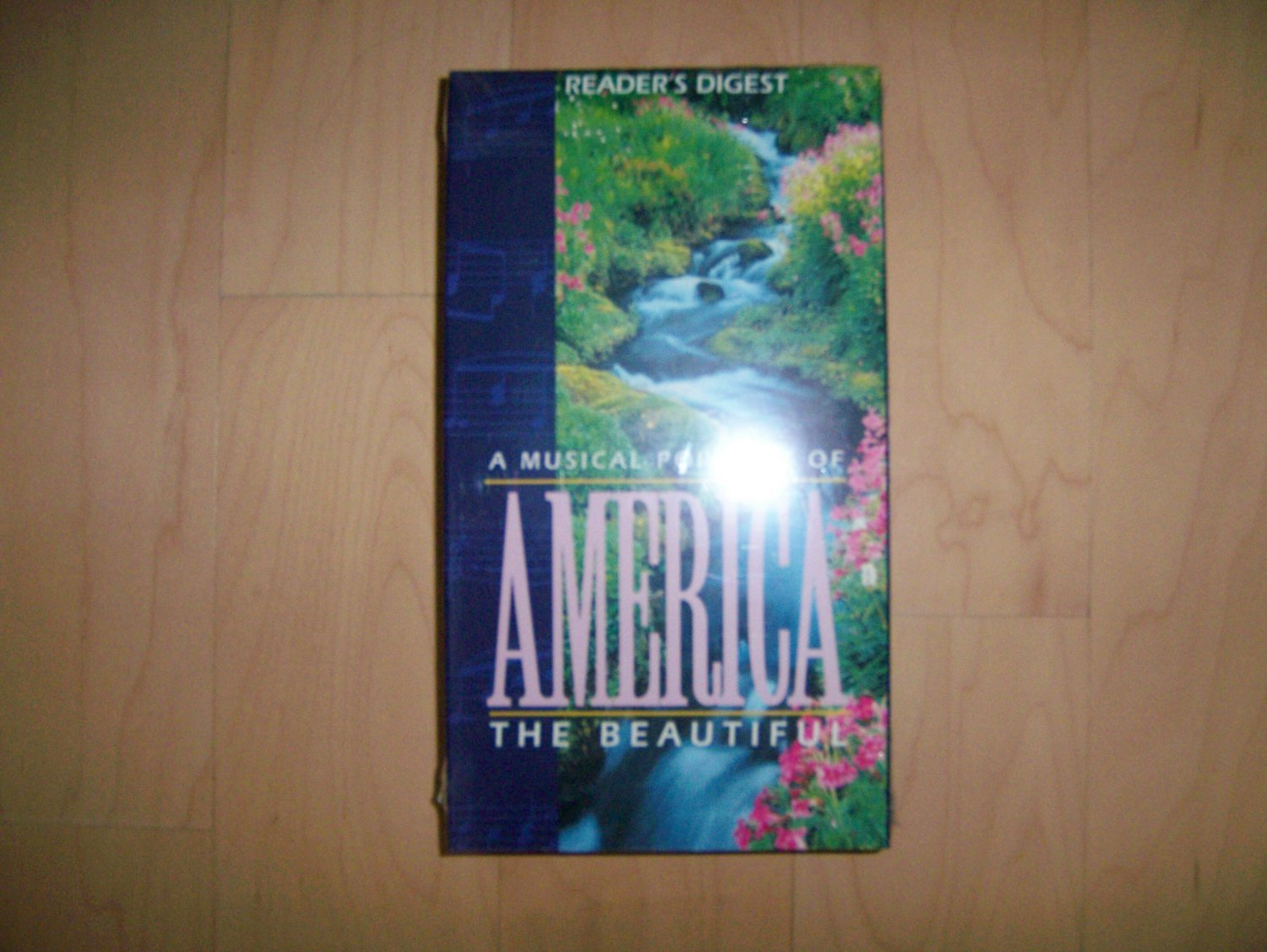 VHS America The Beautiful Musical Portrait BNK810