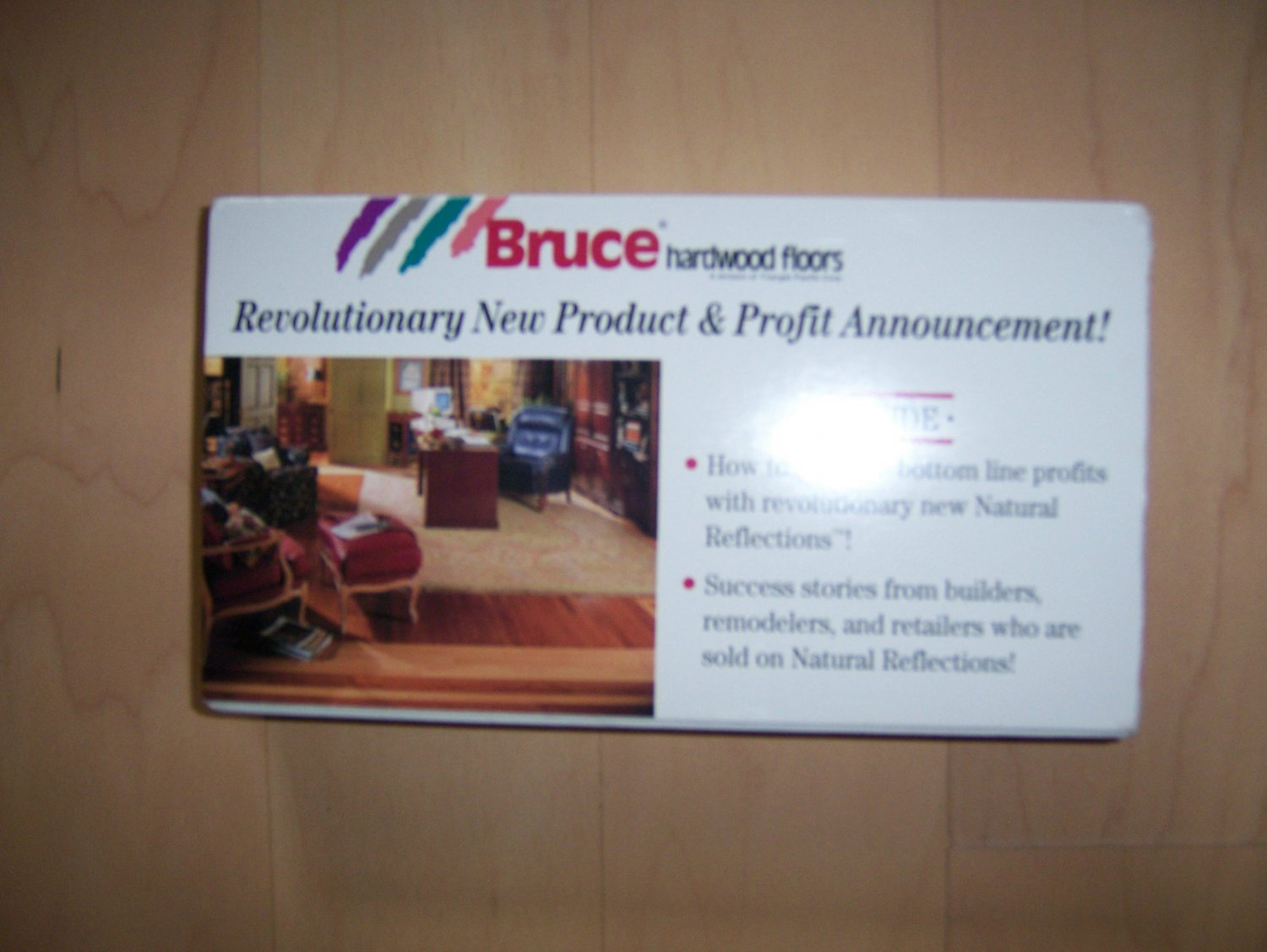VHS Bruce Flooring Natural Reflections BNK821
