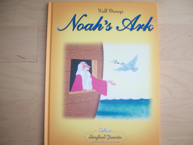 Disney's Noah's Ark Hardcover Book BNK835