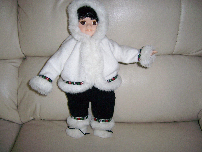 Debbie Snow Ready Porceleon Doll BNK855