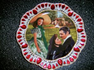 Scarlet & Brett Treasured Plate  BNK895