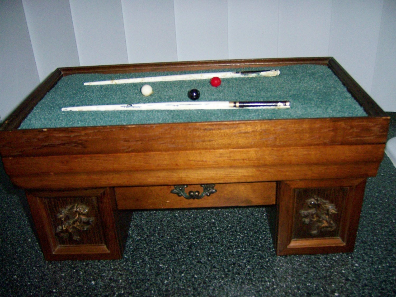 Jewlery Box Wood With Separate Drawer  BNK924