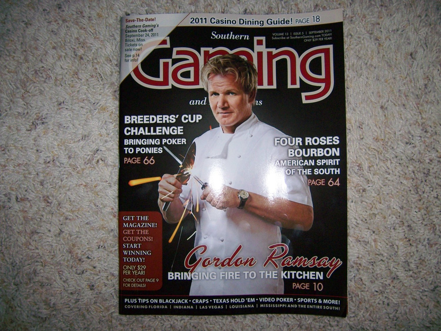 Southern Gaming Magazine Sept 2011  BNK929