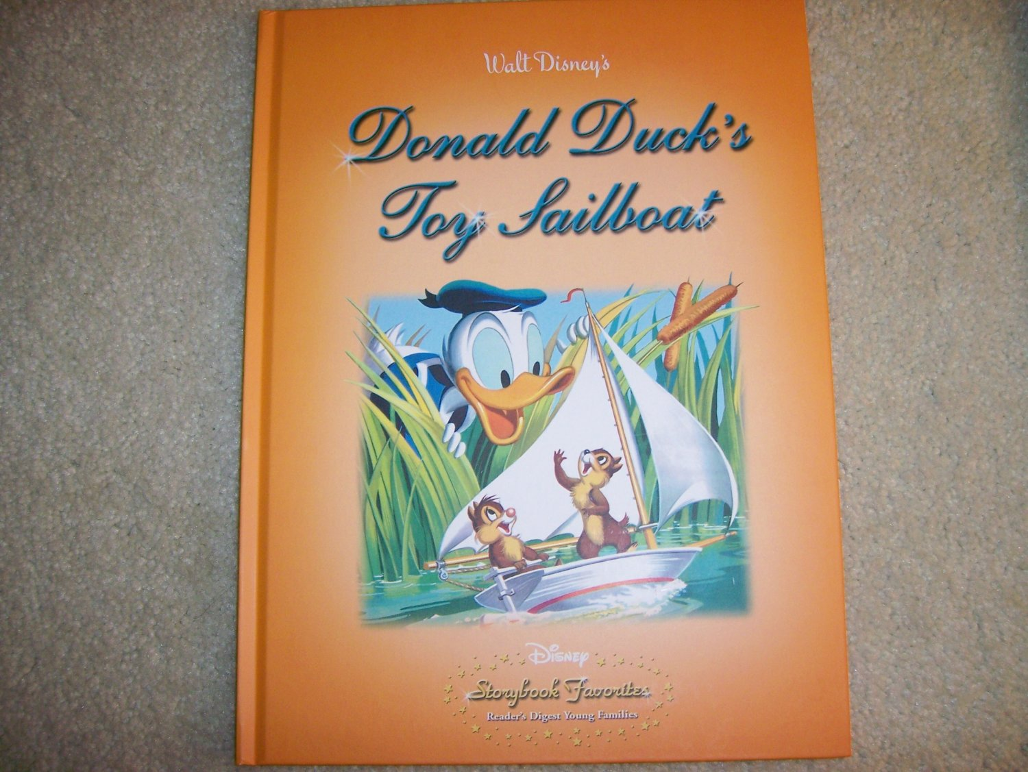 Disney's Donald Duck & The Toy Sailboat  BNK939