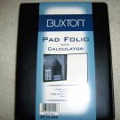 Folio Padded w Calculator  Leatherite Folder BNK855