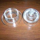 Garlic Bulb/Small Onion Glass Storage Bin BNK968