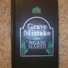 Grave Mistake By Ngaio Marsh Best Mystery Of All Times BNK971