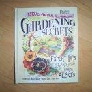 Gardening Secrets Hardcover Book  BNK981