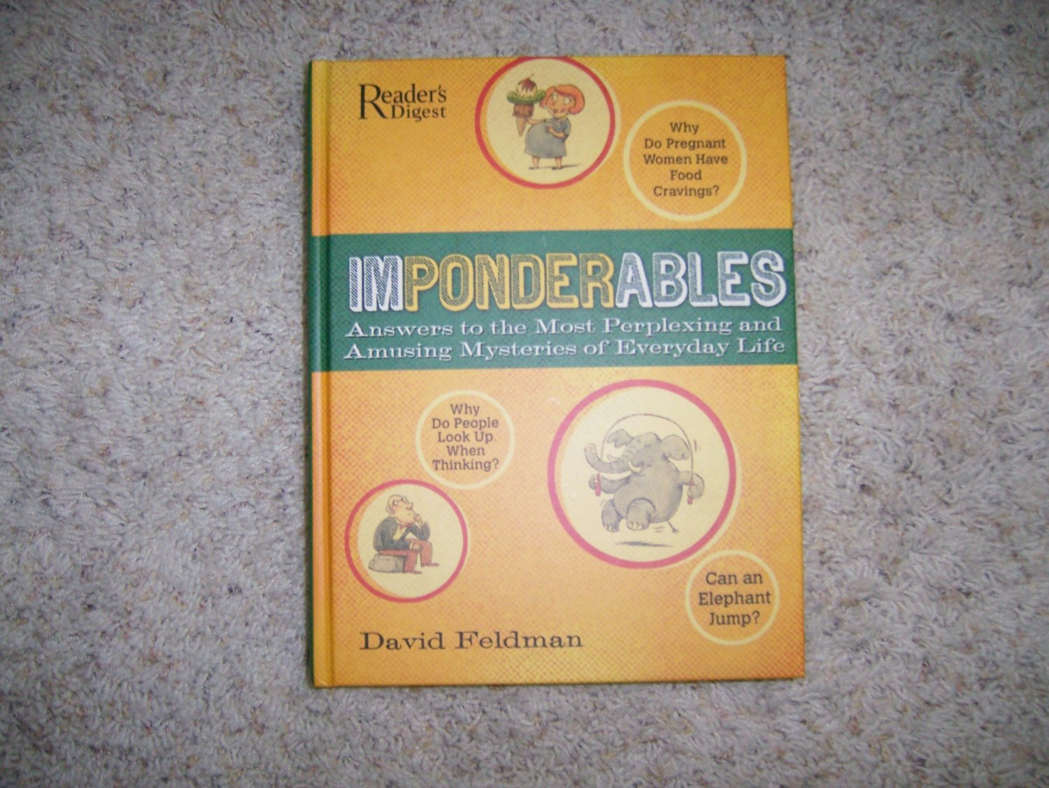 """""""Imponderables"""" Answers To Everyday Questions BNK991"""