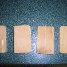 Cedar Blocks 4x3    4 To Package   BNK1006