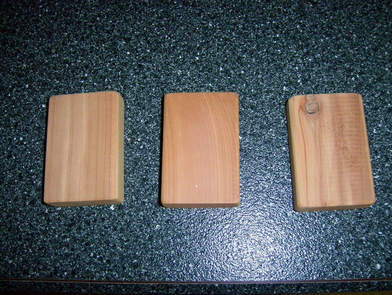 Cedar Blocks  3 To Pckg  3x2   BNK1007