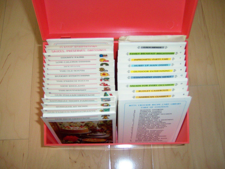 Recipe Case With Betty Crocker Great Recipes BNK1013