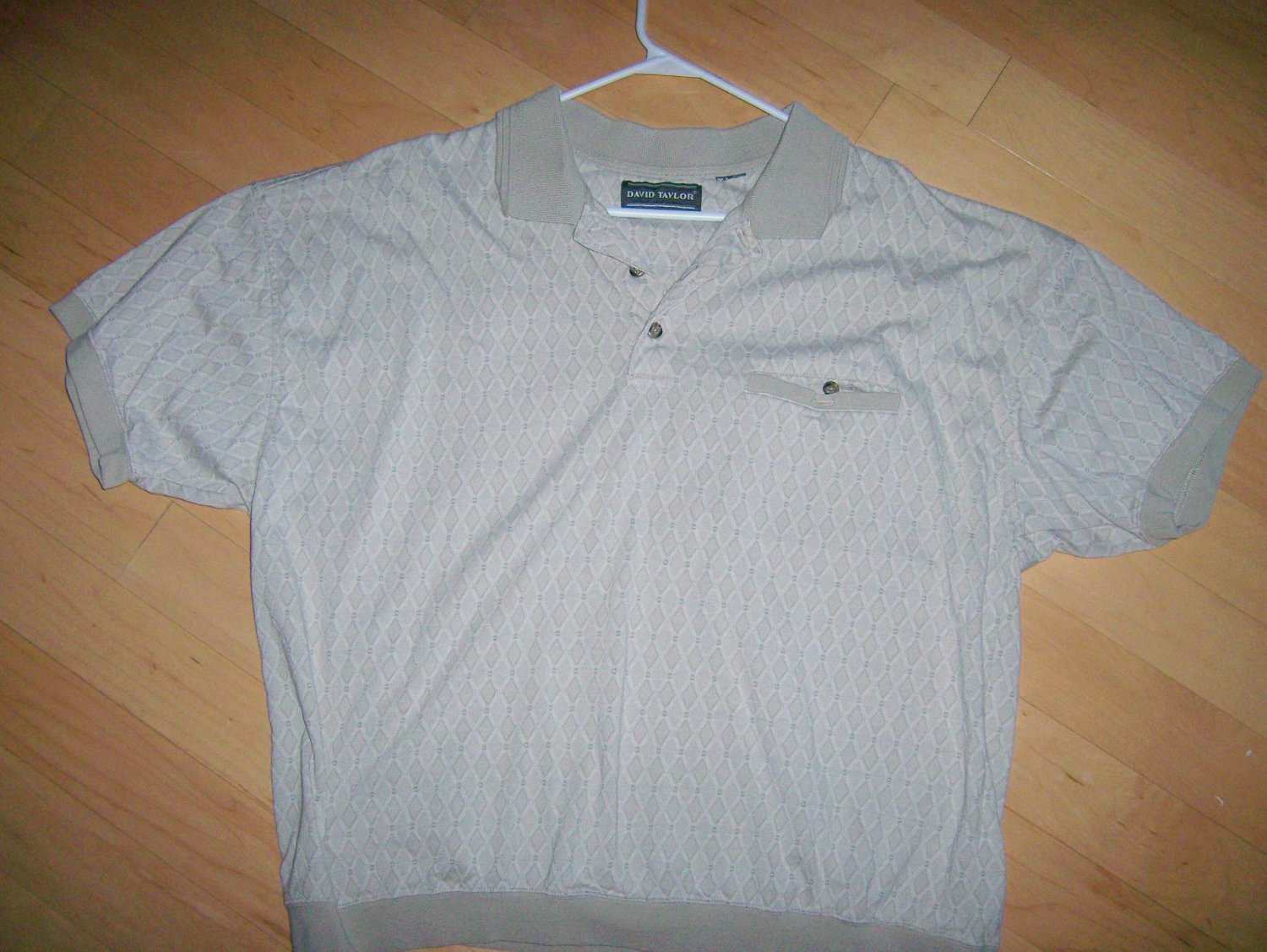 Polo Shirt Grey By David Taylor XL BNK1017