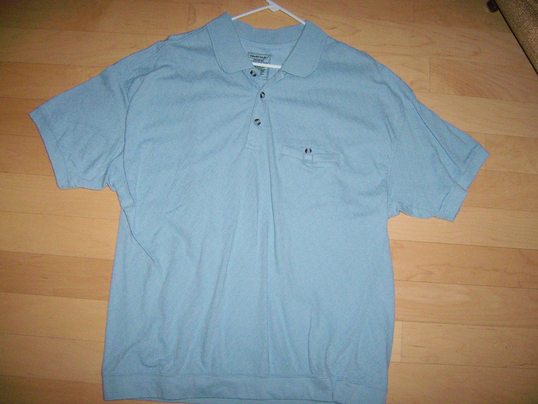 Polo Shirt Light Blue XXL By David Taylor  BNK1018