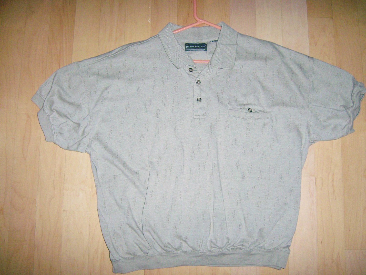 Polo Shirt Light Tan By David Taylor  BNK1019
