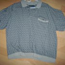 Polo Shirt XXL Med Gray  By David Taylor BNK1021