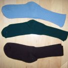 Men's Socks 10-13 Green- Brown- Blue  BNk1034