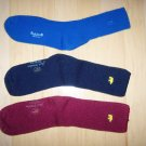 Men's Socks 10-13 Cotton  Blue-Rose-Navy BNK1035