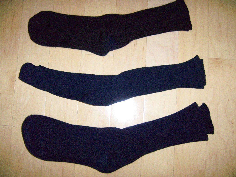 Men's Socks 10-13 Nylon/Cotton Navy- Dk Blue-Black bnk1047