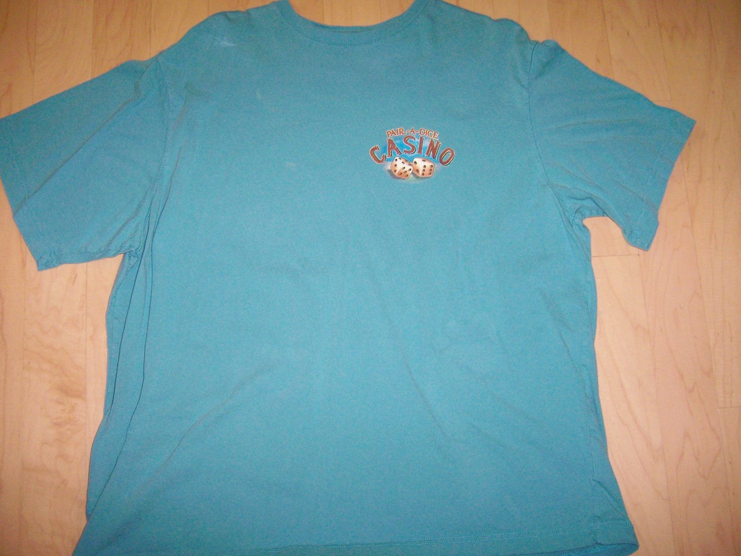 T Shirt  Casino With Dice  2XL BNK1057