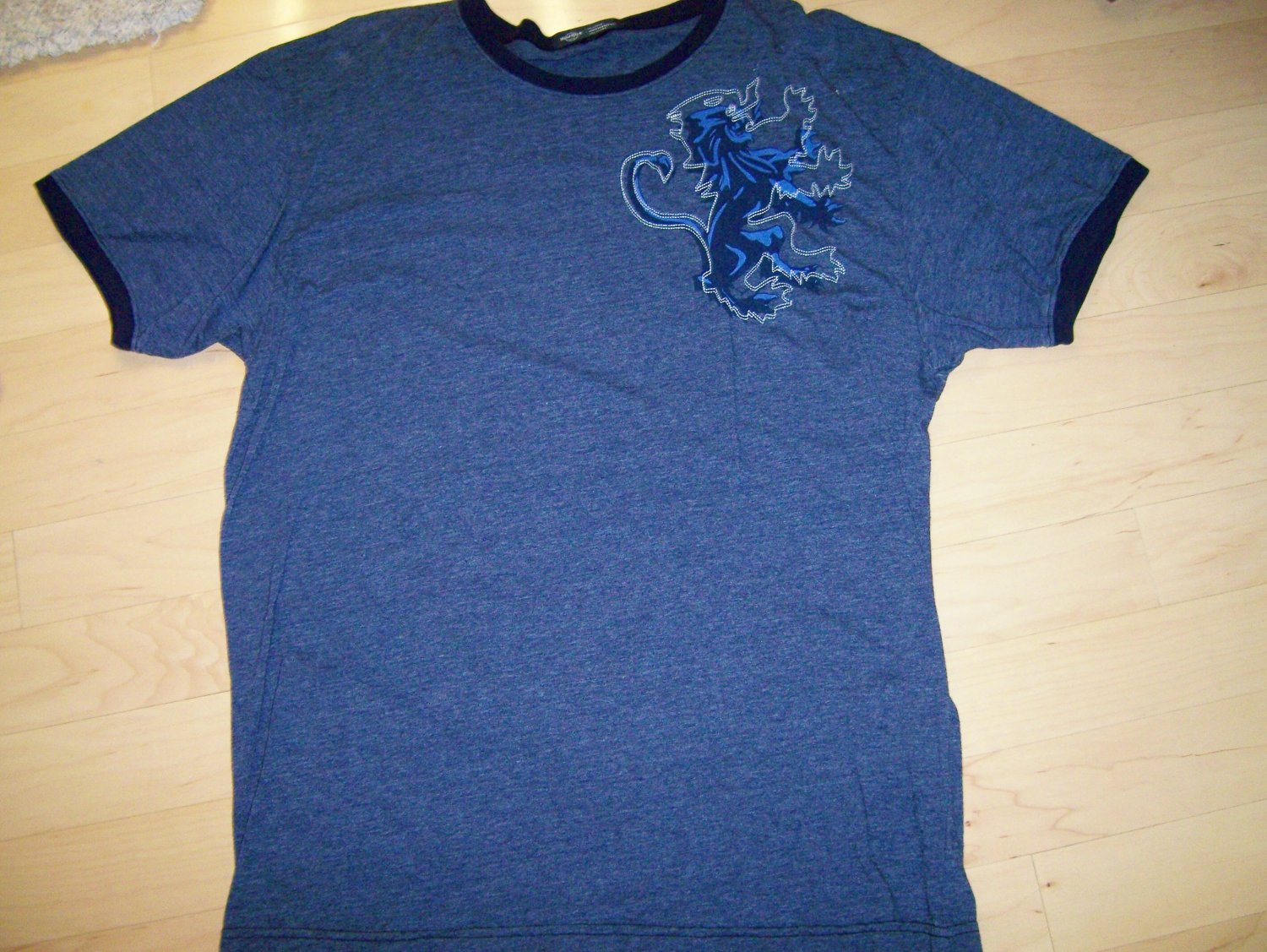 T Shirt Navy With Hard Rock Logo  2XL  BNK1059