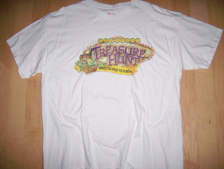 T Shirt White Treasure Hunt Vagas LG BNK1063