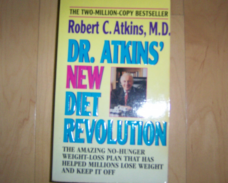 Dr Atkins Diet Revolution Diet Book  BNK1066