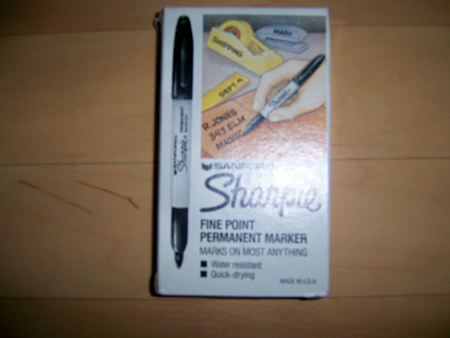 Sanford Sharpie Fine Point Markers Set Of Six BNK1072