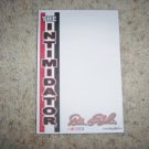 Dale Earnhardt The Intiminator Note Pads  BNK1074