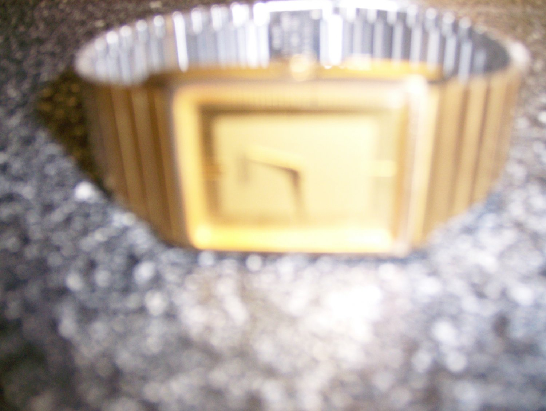 Men's Seiko Gold Watch W Gold Bracelet Band BNK1124