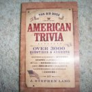 American Trivia 13 Chapter Book BNK1126