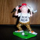 Statue &quot;Bye Bye Birdie&quot;  Golfer  BNK1128