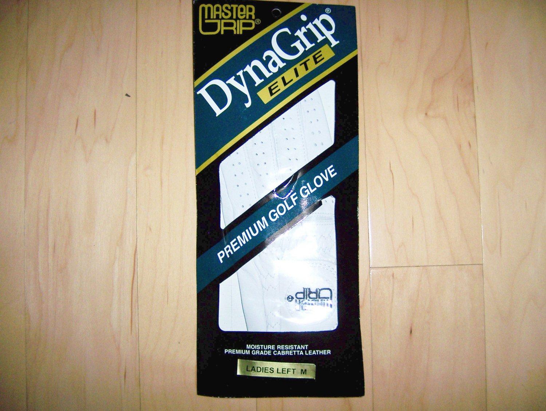 Dyna Master Grip Ladies L Hand Med Golf Glove  BNK1140