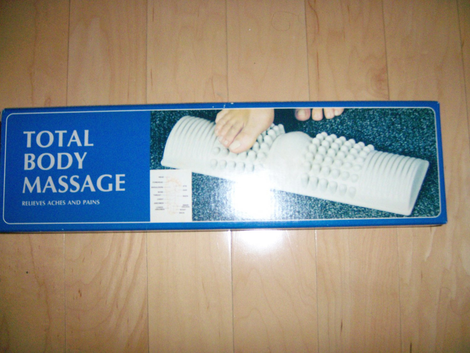 Foot/Body Massage With Map Where Helps Body BNK1189