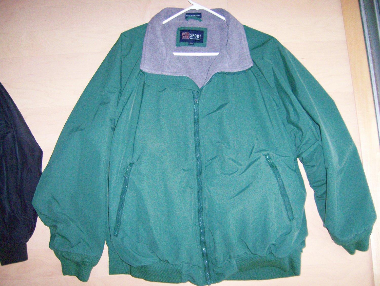 Green 2XL Jacket by HB Sports BNK1209