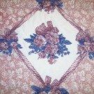 Throw Blanket Floral Reversable Brand New BNK1256