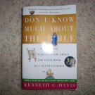 Don't Know Much About The Bible By Kenneth Davis BNK1281