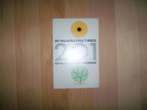201 Valuable Free Things For Gardners  BNK1285