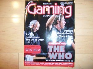 Southern Gaming Magazine Jan 2010  BNK1326