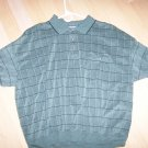 Men's polo Shirt XXL Greay Checked BNK1379